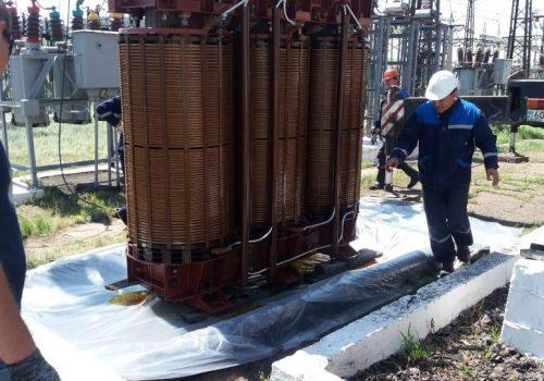 Капитальный ремонт ТДТН-25000 кВА №1 на ТРП-3 (3)
