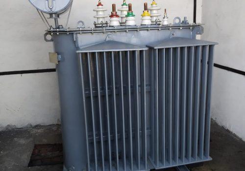 Капитальный ремонт ТМ-160 кВА на ТРП-1 (3)