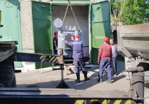 Капитальный ремонт ТМ-250 кВА на ТРП-3 (1)