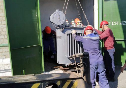 Капитальный ремонт ТМ-250 кВА на ТРП-3 (3)