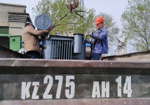 Капитальный ремонт ТМ-250 кВА на ТРП-3 (4)