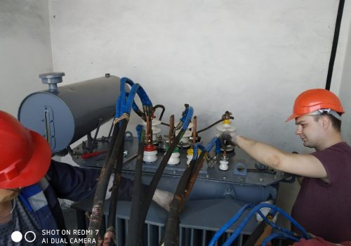 Капитальный ремонт ТМ-250 кВА на ТРП-3 (5)