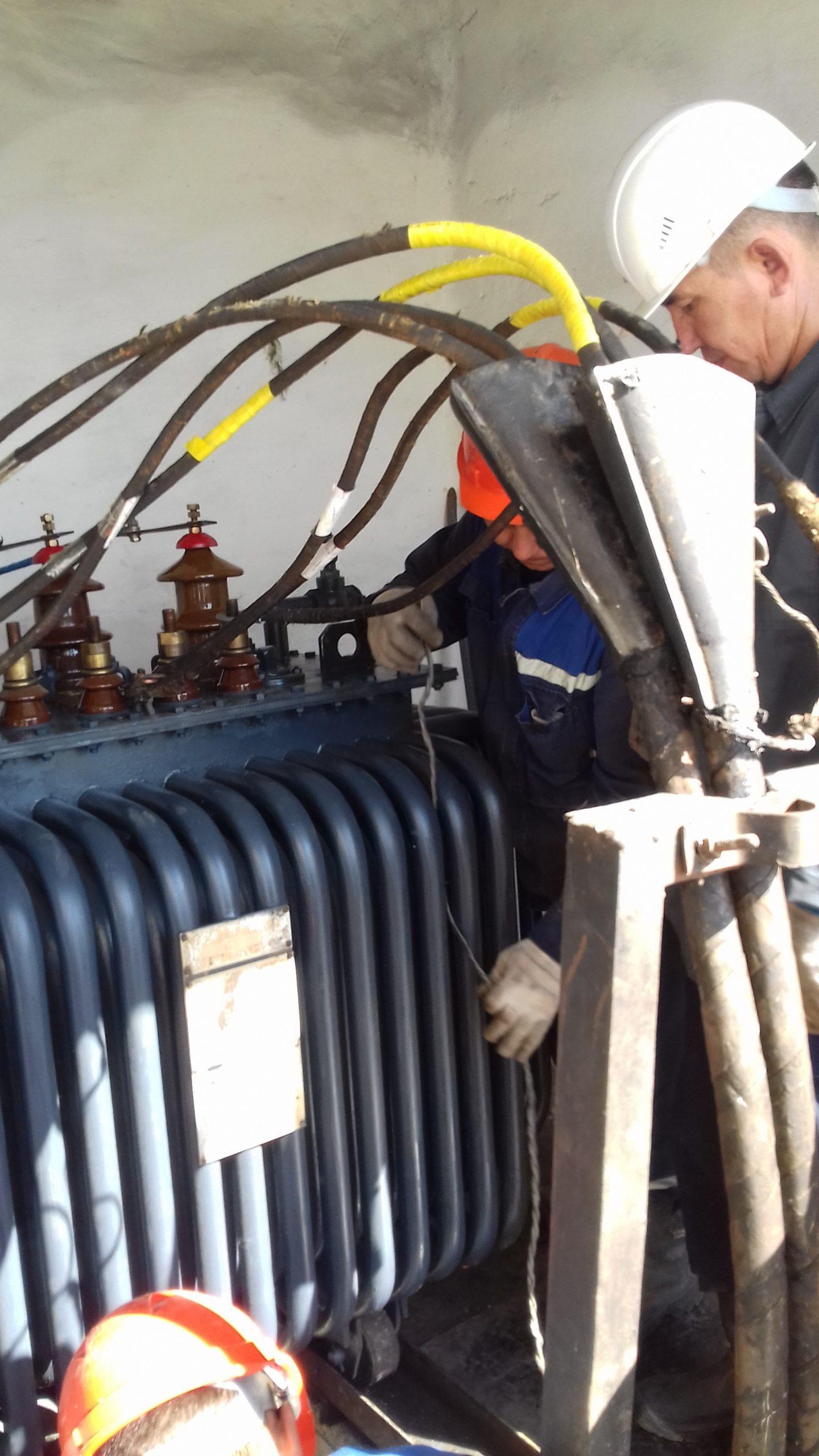 Капитальный ремонт ТМ-315 кВА на ТРП-1 (10)