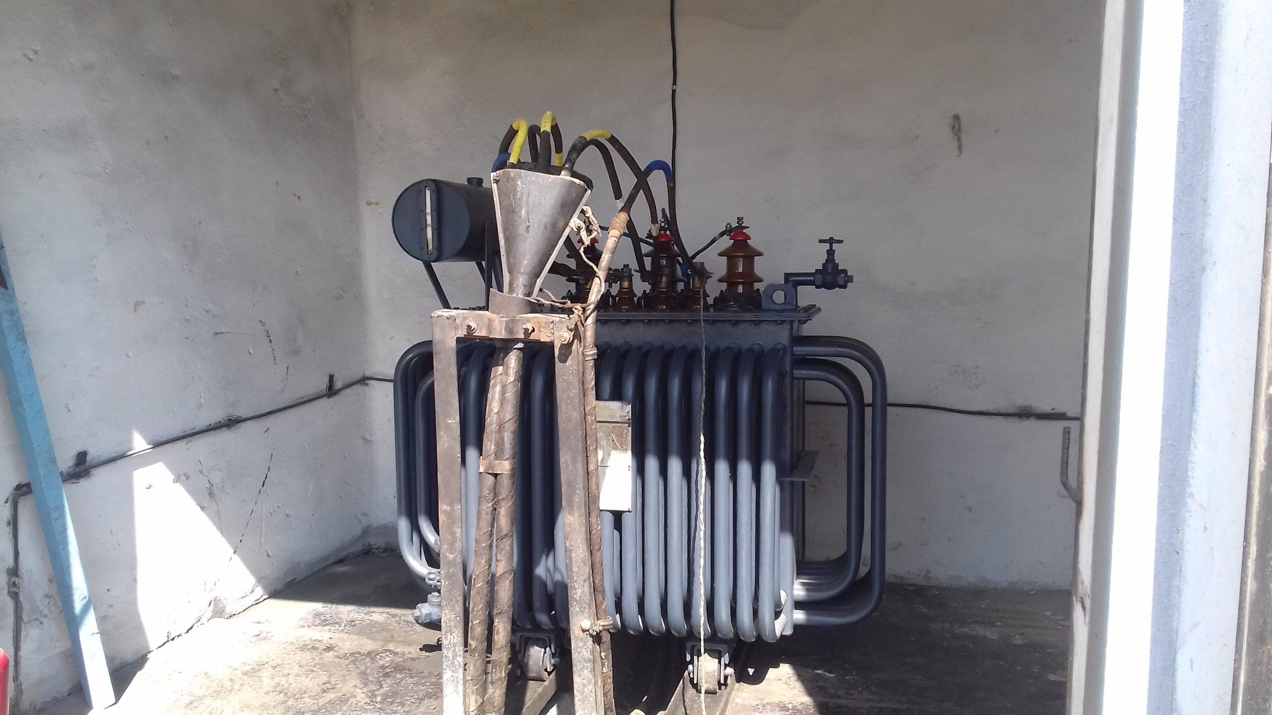 Капитальный ремонт ТМ-315 кВА на ТРП-1 (11)