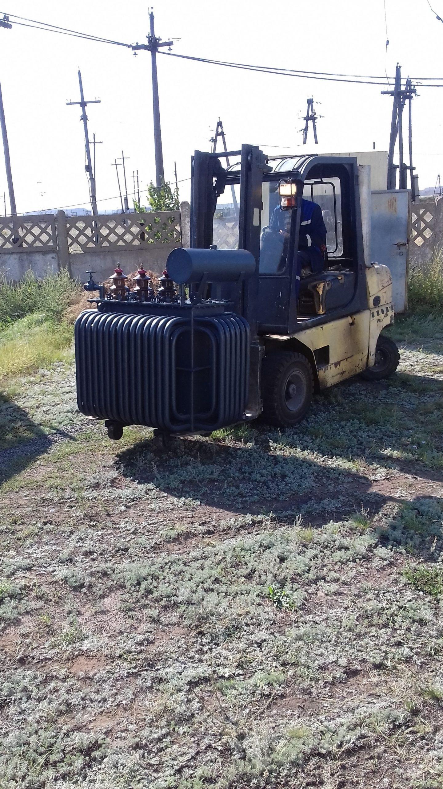 Капитальный ремонт ТМ-315 кВА на ТРП-1 (2)