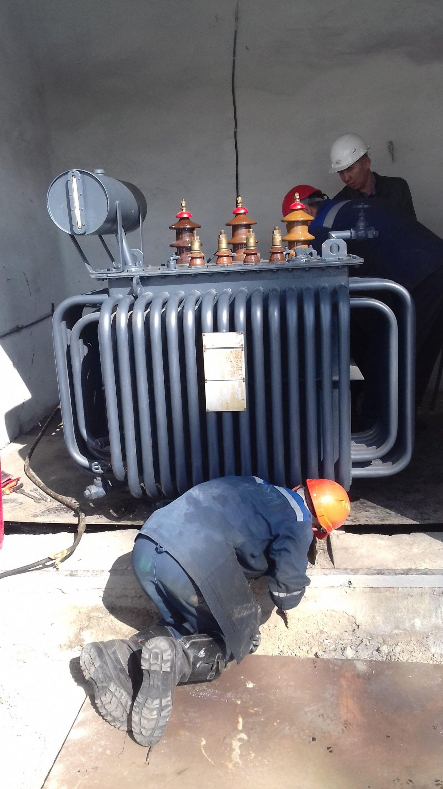 Капитальный ремонт ТМ-315 кВА на ТРП-1 (6)