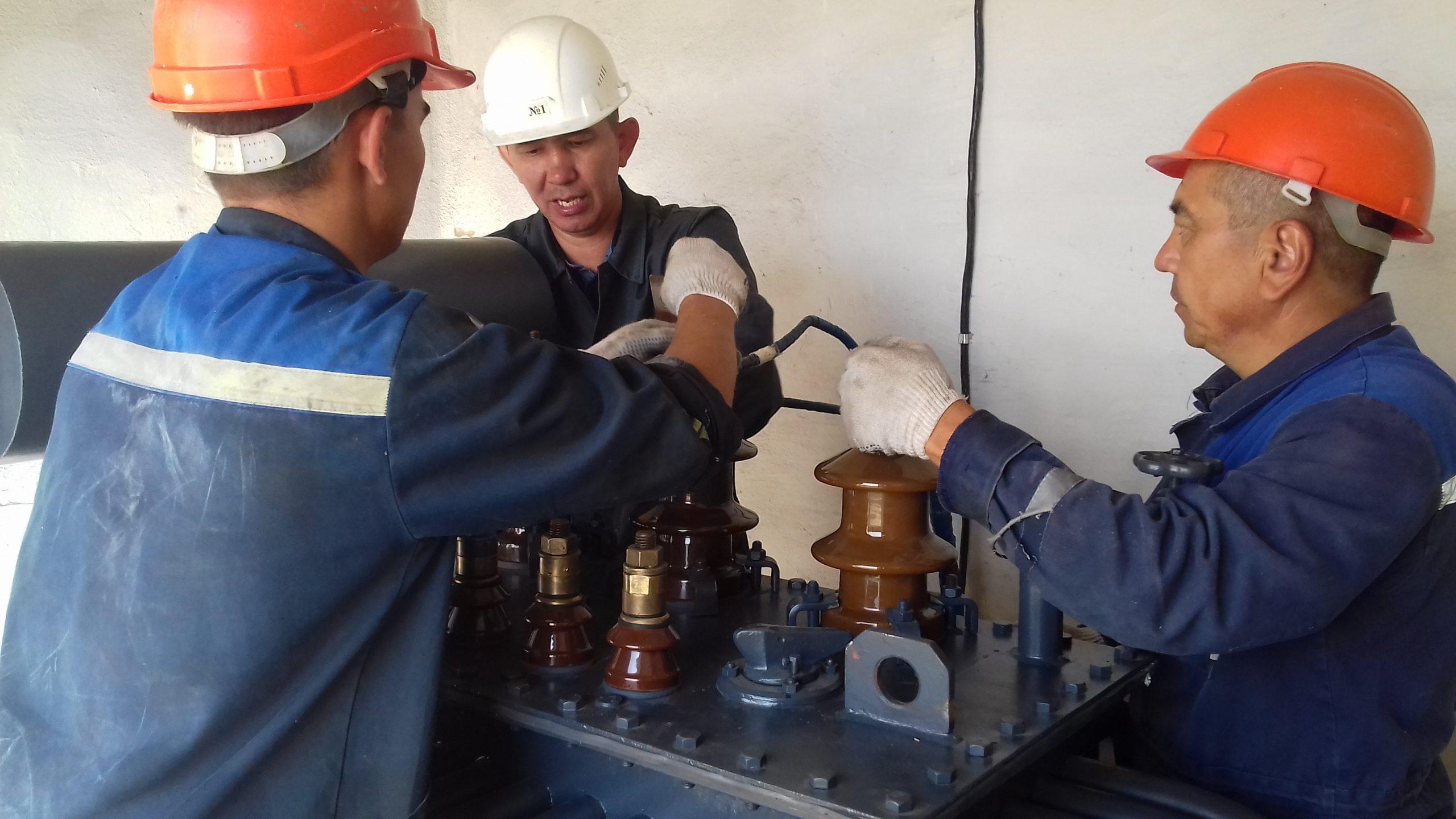 Капитальный ремонт ТМ-315 кВА на ТРП-1 (7)