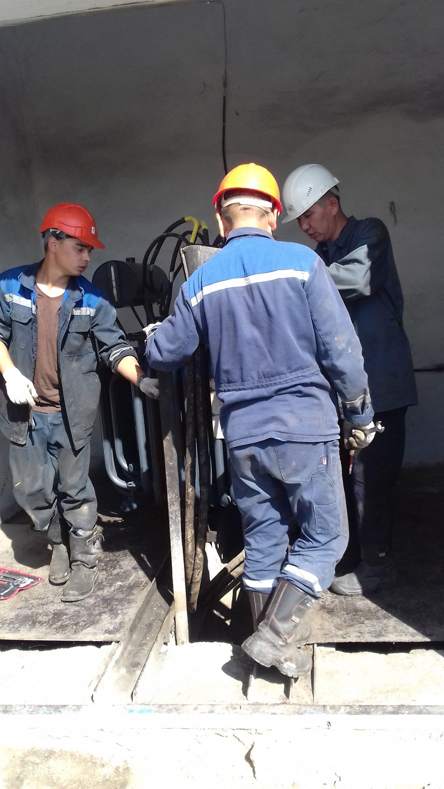 Капитальный ремонт ТМ-315 кВА на ТРП-1 (8)