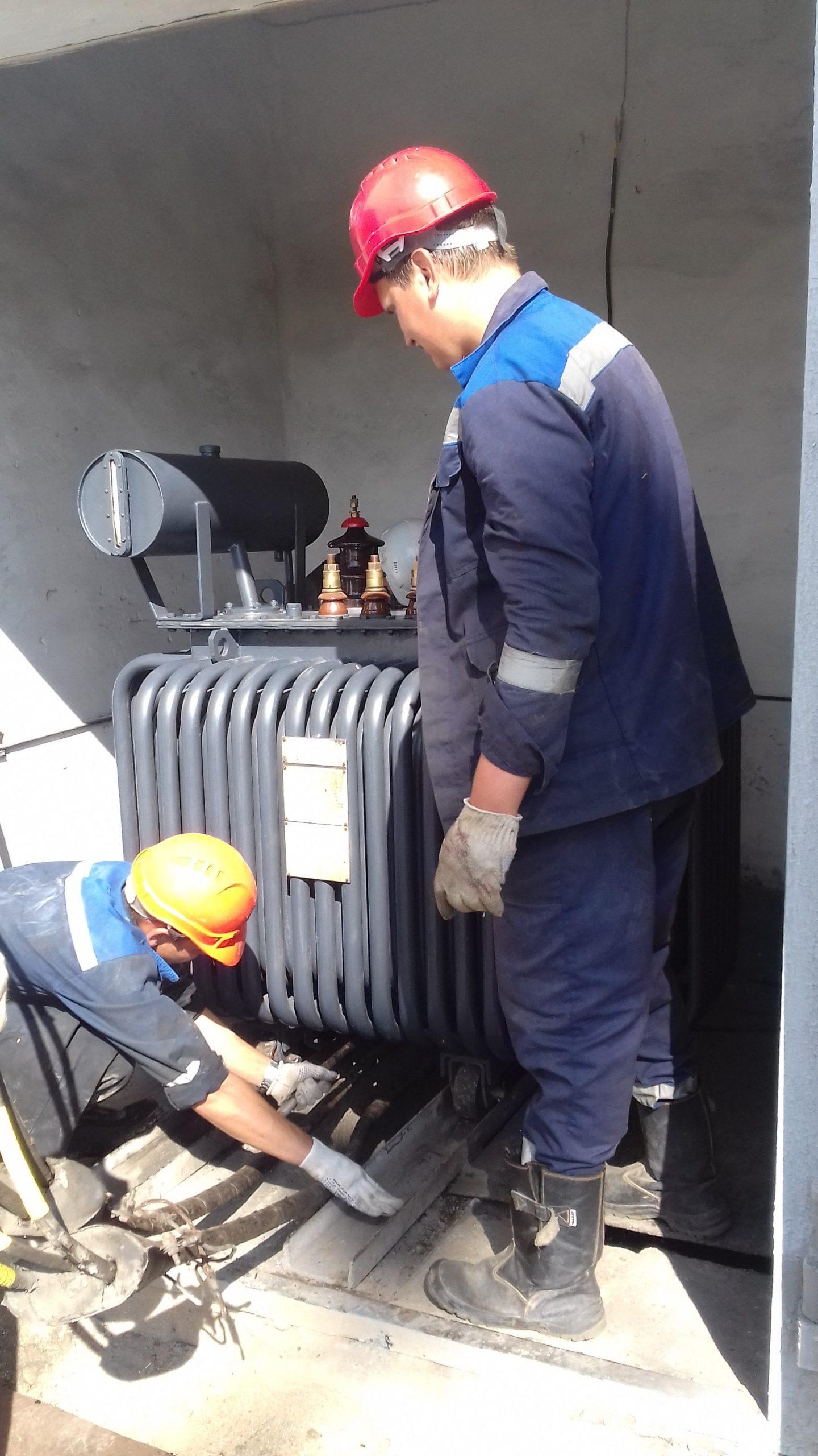 Капитальный ремонт ТМ-315 кВА на ТРП-1 (9)