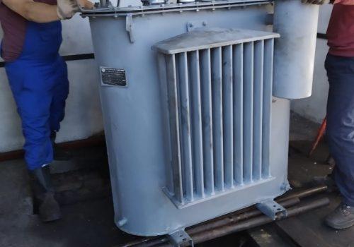 Капитальный ремонт ТМ-630 кВА на ТРП-3 (2)