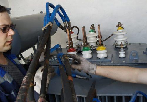 Капитальный ремонт ТМ-630 кВА на ТРП-3 (4)