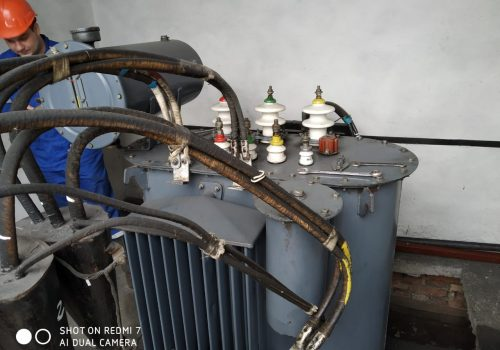 Капитальный ремонт ТМ-630 кВА на ТРП-3 (5)