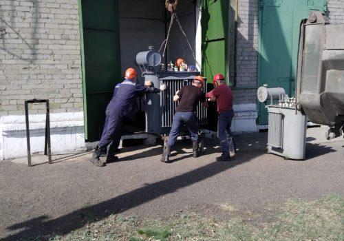 Капитальный ремонт ТМ-630 кВА на ТРП-3 (7)