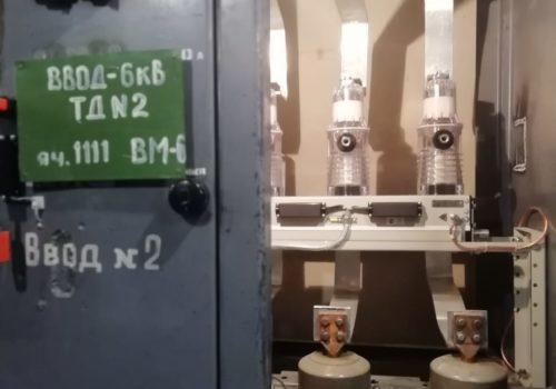 Реконструкция 3РУ-6кВ на ТРП-11