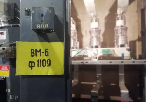 Реконструкция 3РУ-6кВ на ТРП-110