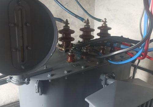 Капитальный ремонт ТСМА-160 кВА на ТРП-610