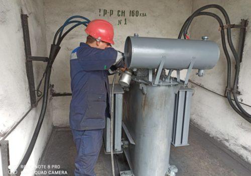 Капитальный ремонт ТСМА-160 кВА на ТРП-63