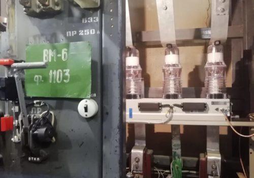 Реконструкция 3РУ-6кВ на ТРП-14