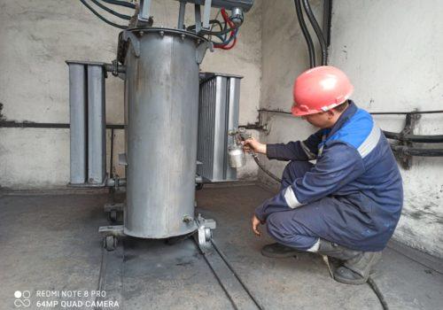 Капитальный ремонт ТСМА-160 кВА на ТРП-64
