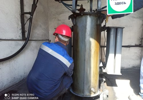 Капитальный ремонт ТСМА-160 кВА на ТРП-65