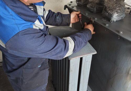 Капитальный ремонт ТСМА-160 кВА на ТРП-66